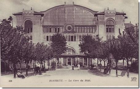 gare du midi photo ancienne
